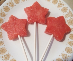 Viola!  Watermelon wands!