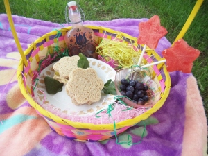 Our fairy picnic basket!