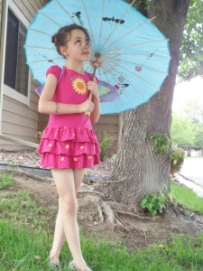 Railey's fairy costume!