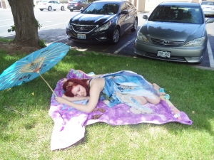 I took a fairy nap!