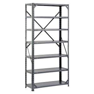 $26.87 on Amazon for these industrial shelves.