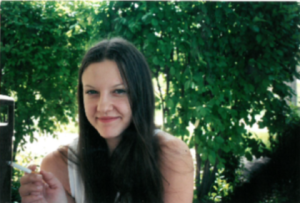 Me on the last day of school in 2002, with my bestie Jessica, in the park next to Columbine.